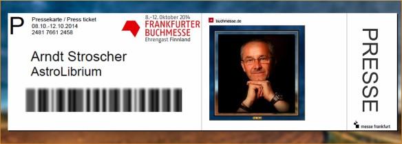 Buchmesse Frankfurt 2014 - Mit AstroLibium