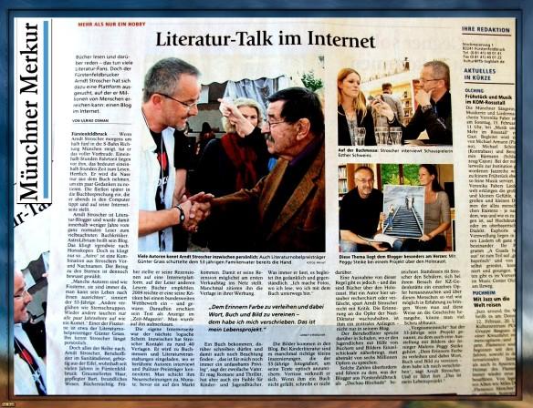 AstroLibrium im Fokus des Münchner Merkur... mit einem Klick zum Artikel...
