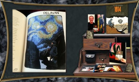 1914 - Ein Maler zieht in den Krieg - Der Kriegskomet Delavan