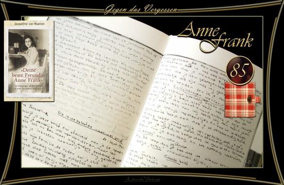 Deine beste Freundin Anne Frank - Jacqueline van Maarsen - KJB