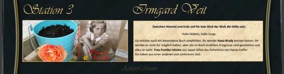 Irmgard Veit hat ihre Eindrücke auf ganz besondere Weise festgehalten...Link unter dem Bild