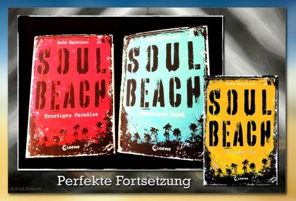 Soul Beach - Schwarzer Sand von Kate Harrison - Warten auf  Salziger Tod