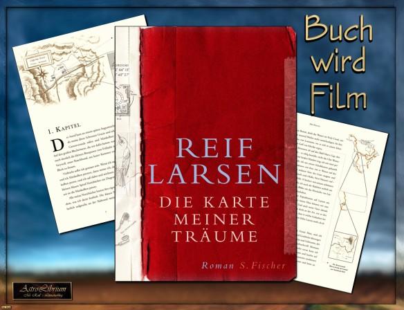 Die Karte meiner Träume von Reif Larsen kommt ins Kino