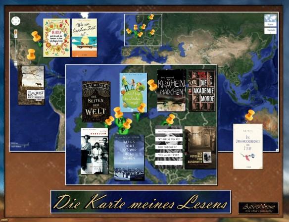 Die Karte meines Lesens - Mr. Rail als Buch-Kartograph