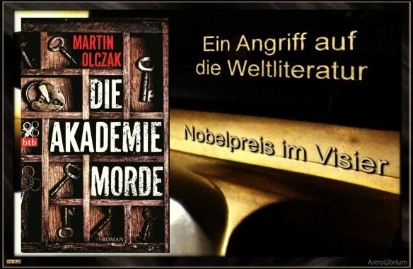 Die Akademiemorde - Martin Olczak - Mit einem Klick zum Artikel