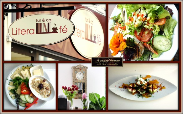 Die kulinarische Seite von Literafé - AstroLibrium ist begeistert