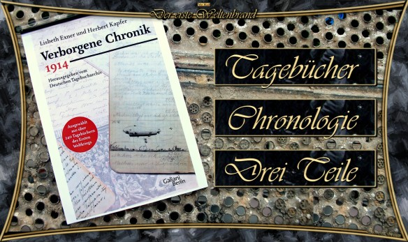 Verborgene Chronik 1914 von L. Exner / H. Kapfer