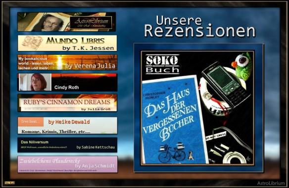 Alle SoKo-Rezensionen zum Haus der vergessenen Bücher