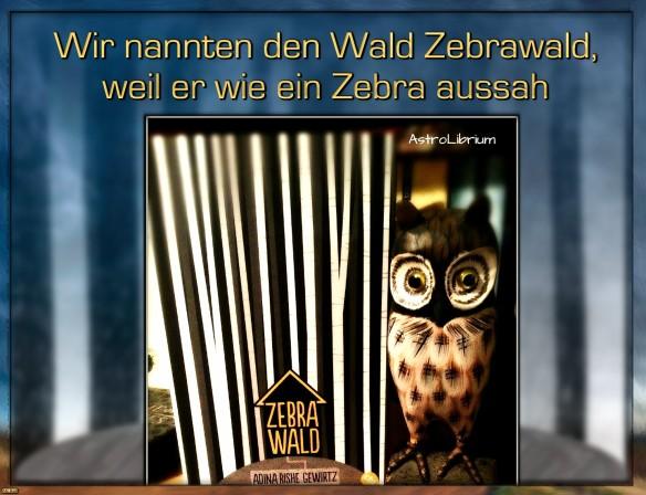 Zebrawald, Jugendbuch, Adina Rishe Gewirtz, AstroLibrium