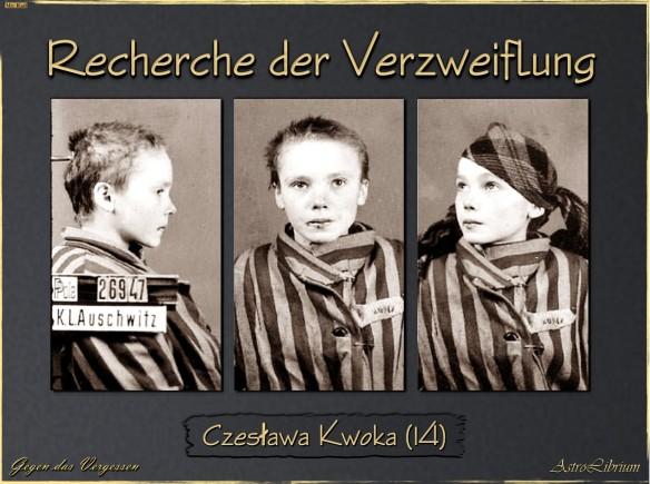 Czesława Kwoka - Gegen das Vergessen - Eine wahre Geschichte
