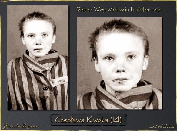 Czesława Kwoka - Ein Blivk in ihre Augen...und dann...