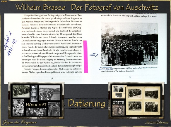 Wilhelm Brasse - Der Fotograf von Auschwitz - Methodische Fehler