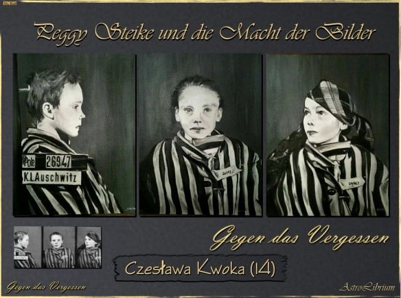 Czesława Kwoka mit den Augen von Peggy Steike - Ein gemeinsames Schulprojekt
