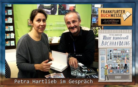 Pertras Hartlieb - Das exklusive Buchmesseinterview