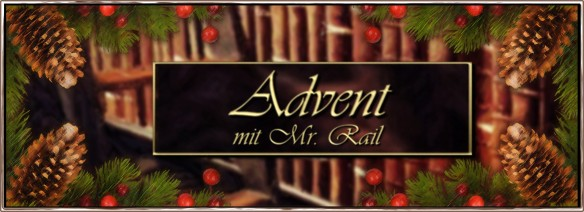 Durch den Advent mit Mr. Rail - Der Adventskalender auf AstroLibrium