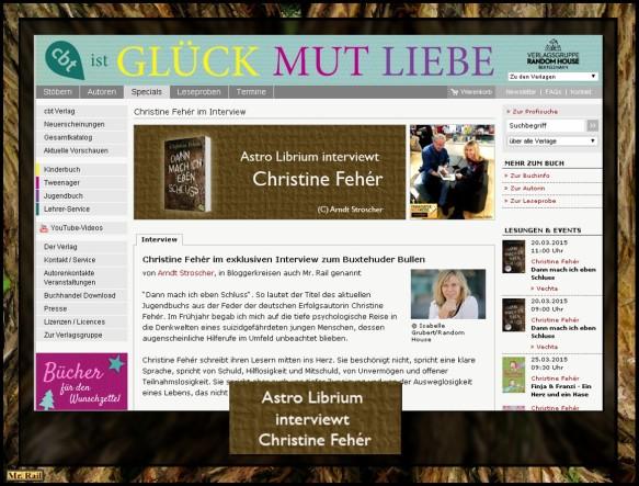 Christine Fehér und Mr. Rail - Toll gespiegelt bei cbt - Ein Klick reicht