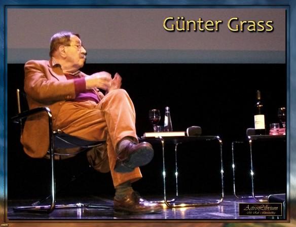 Günter Grass auf der 55. Münchner Bücherschau - Hundejahre und mehr