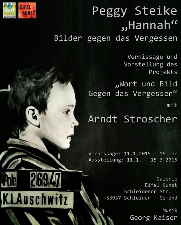 """Vernissage """"Gegen das Vergessen"""" - Peggy Steike und Arndt Stroscher"""