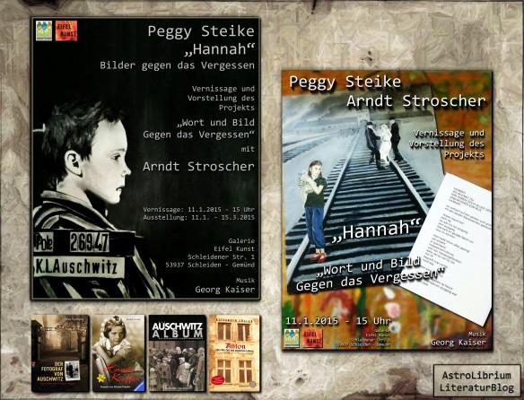 """Vernissage """"Gegen das Vergessen"""" - Peggy Steike und Arndt Stroscher - AstroLibrium"""