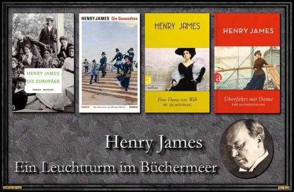 Zum 100. Todestag von Henry James
