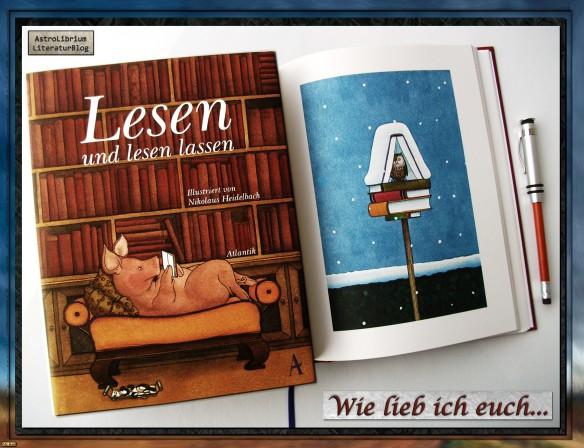 Lesen und lesen lassen - Illustriert von Nikolaus Heidelbach
