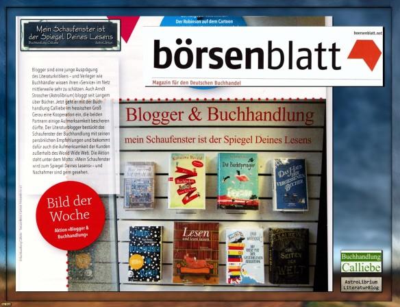 Buchhandlung Calliebe und AstroLibrium - Das Börsenblatt berichtet