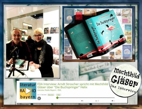 Mechthild Gläser - Das Buchspringer-Interview auf der Leipziger Buchmesse
