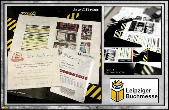Die Leipziger Buchmesse 2015 und AstroLibrium