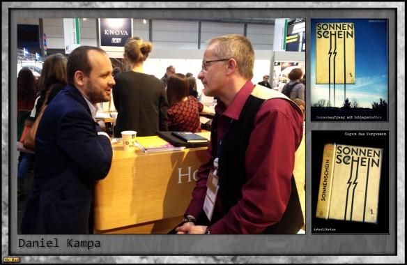 LBM15 – Die Leipziger Buchmesse – Daniel Kampa - Verleger mit Botschaft