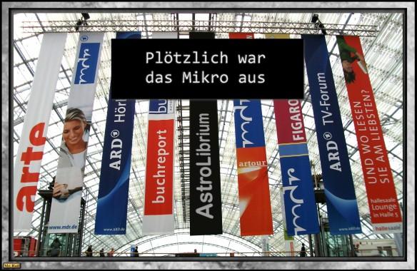 Leipziger Buchmesse - Eklat bei Podiumsdiskussion