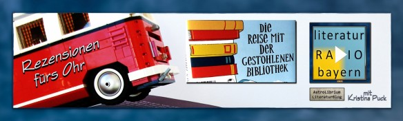 Ab dem 15. Mai zweistimmig hörbar bei Literatur Radio Bayern