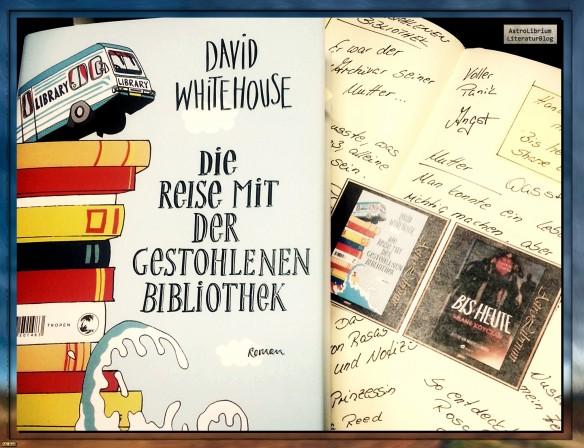 Die Reise mit der gestohlenen Bibliothek - David Whitehouse