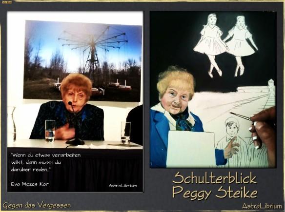 Eva Mozes Kor - Peggy Steike malt gegen das Vergessen
