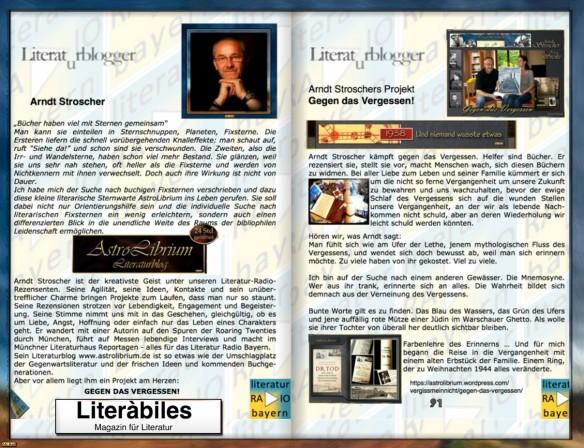 Literàbiles über AstroLibrium und Literatur Radio Bayern