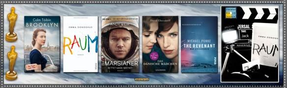 Literaturverfilmungen und die Oscarverleihung 2016