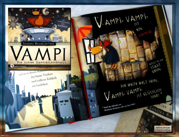 Vampi - Die kleine Vampirfledermaus von Sandra Baumgärtner