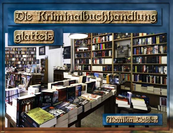 Aus Liebe zum Buch - Buchhändler im Dialog... Monika Dobler - Buchhandlung Glatteis - München