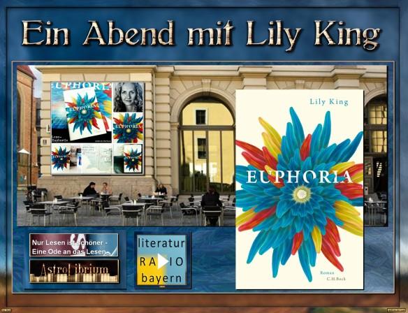 Euphoria - Lily King - Premiere im Literaturhaus München