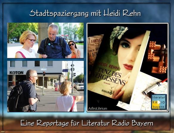 Tanz des Vergessens von Heidi Rehn - Ein Stadtspaziergang
