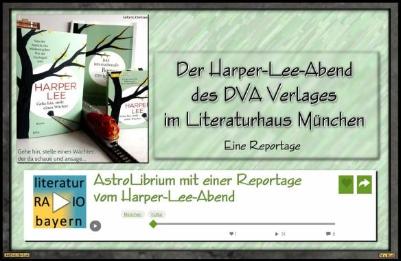 Der Harper-Lee-Abend des DVA Verlages - Mit einem Klick zur Reportage