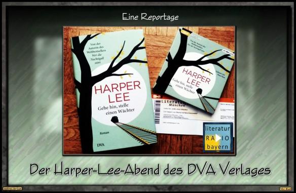 Der Harper-Lee-Abend im Literaturhaus München - Eine Reportage - AstroLibrium