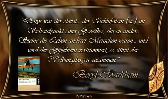 Beryl Markham - Westwärts mit der Nacht