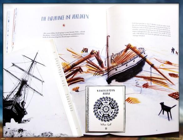 Shackletons Reise von William Grill - Die Endurance ist verloren