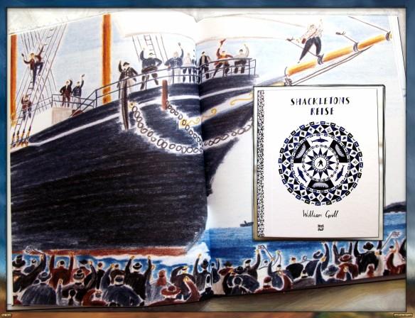 Shackletons Reise von William Grill - Die Reise beginnt
