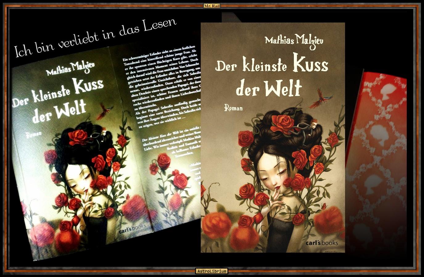 Der Kleinste Kuss Der Welt Von Mathias Malzieu