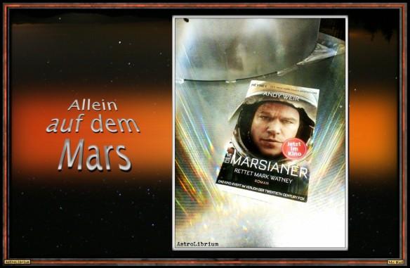 Der Marsianer von Andy Weir - Eine multimediale Betrachtung - Das Buch