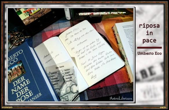 Umberto Eco - 5.1.1932 bis 19.02.2016