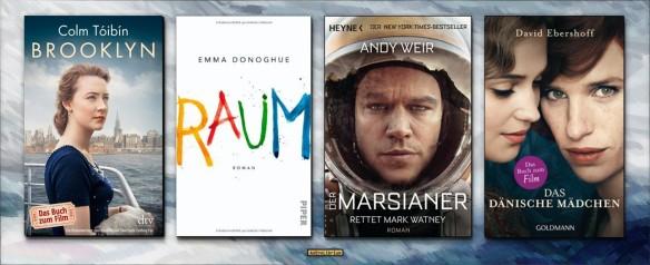 Literaturverfilmungen und die Oscarverleihung 2016 - Eine Reportage folgt