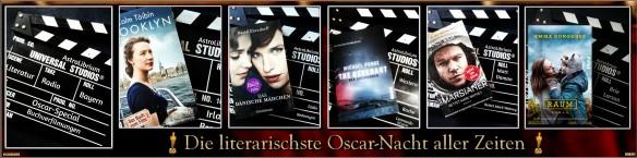 Das Oscar-Special bei Literatur Radio Bayern – Die literarischste Oscar-Nacht aller Zeiten