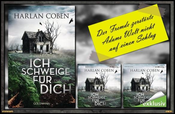 Ich schweige für dich - Harlan Coben - Mit einem Klick zum audible-Hörbuch